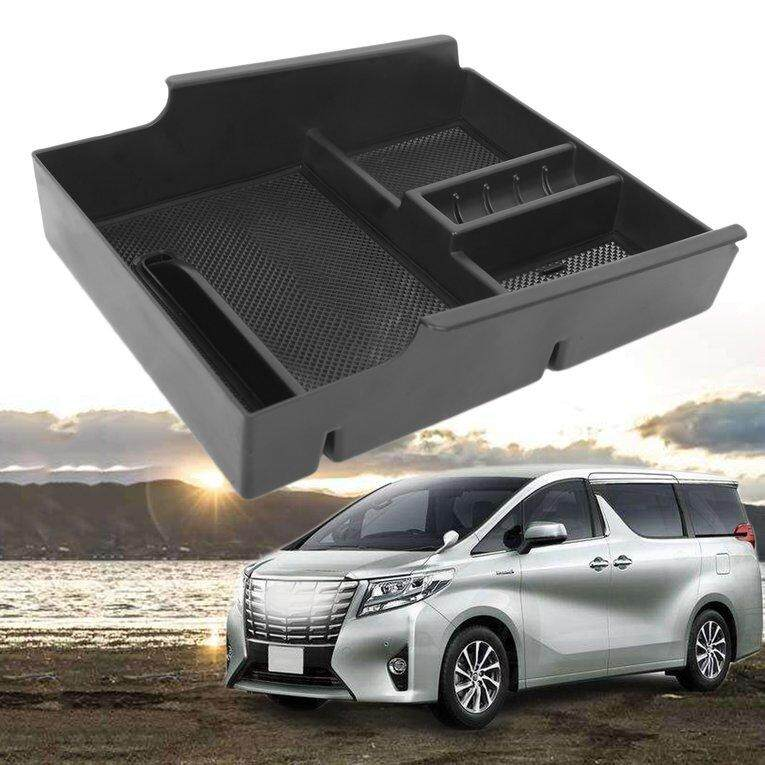 Allwin Non-Slip Car Central Armrest Container Suitable for Toyota Alphard 2015-2018