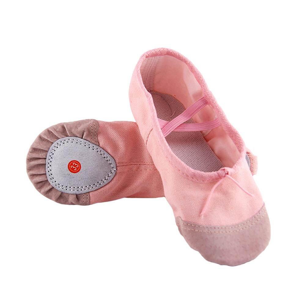 65d9cc3d95503 Ballet Shoes Dance Shoes Yoga Shoes Comfortable Breathable Slippers Pointe  Soft Flats for Children Kids Girls Women