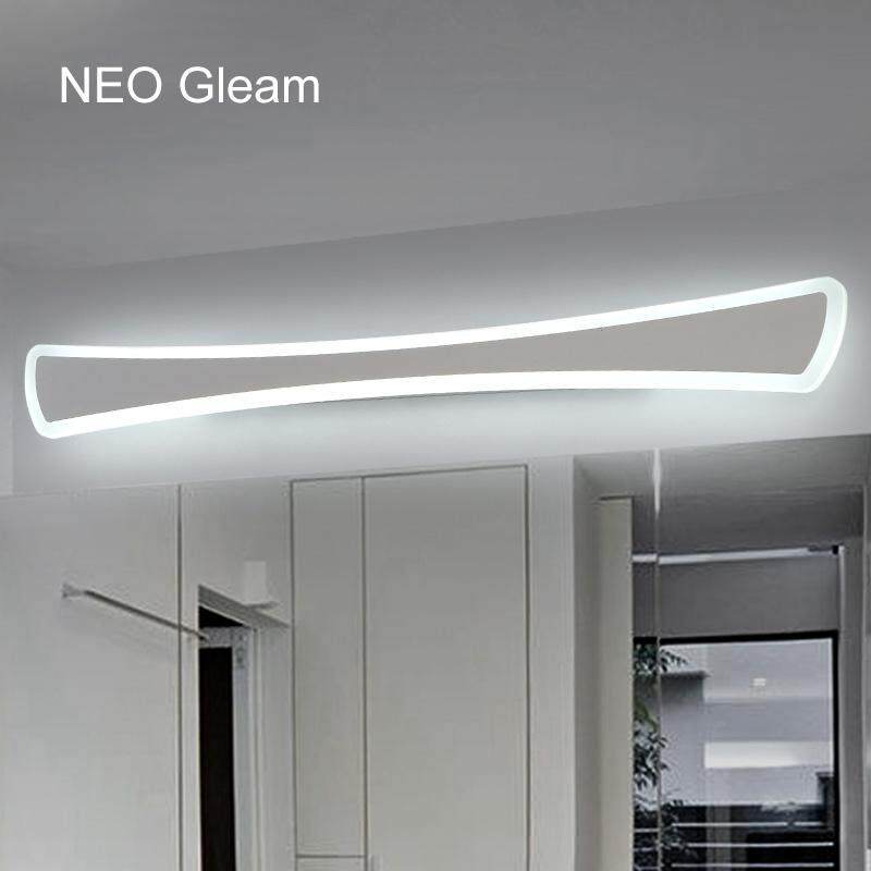 Modern LED Mirror Lights 60CM Wall Lamp Bathroom Bedroom Headboard Wall Sconce Lampe Deco Anti-fog - intl