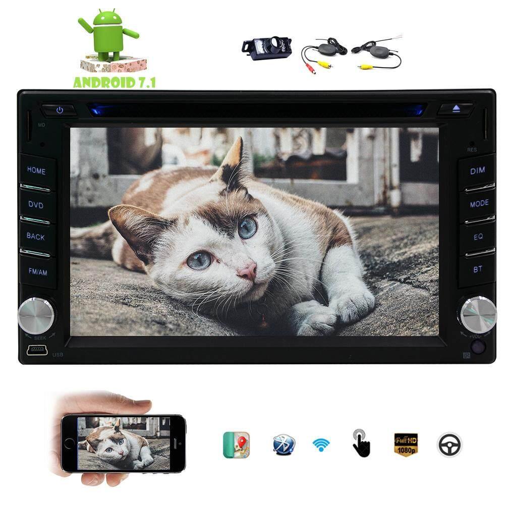 Jual Panas 6.2 Inch Ganda DIN Dalam Dash Mobil DVD Pemutar dengan Android 7.1 Nougat OS Mobil Stereo Sistem Hiburan dengan Bluetooth USB SD MP3 Radio Video Wifi Mirrorlink Universal Mobil Nirkabel Belakang Kamera-Internasional  - 1c500102efd025c855b4ad1ebf225f3f - Update Harga Terbaru Hp Xiaomi Os Nougat Agustus 2018