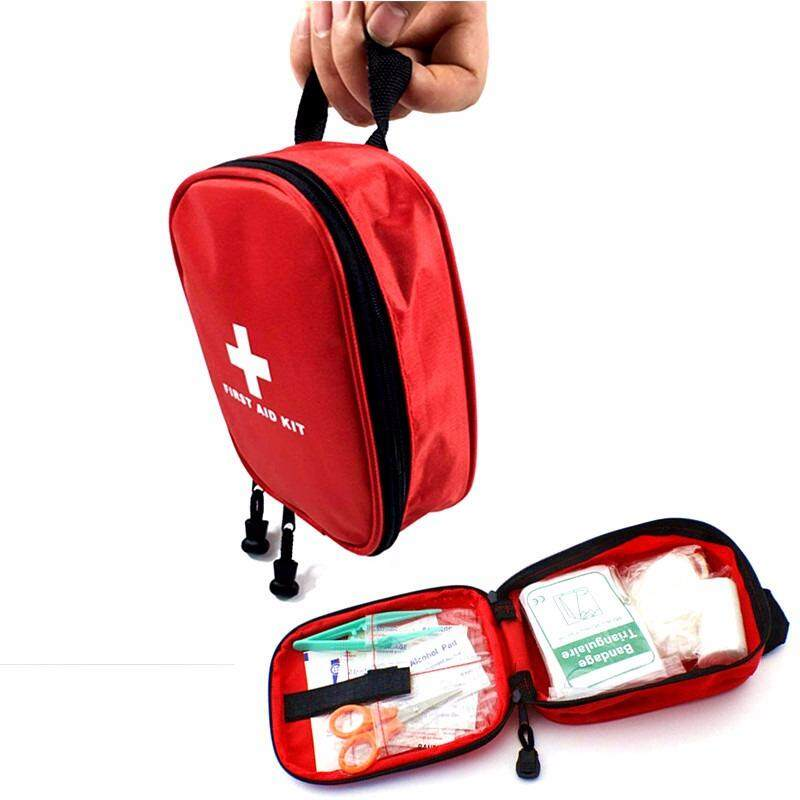 31 Pcs Medical Supplies For First Aid Kits Waterproof Oxford Travel Rescue Case Bag Medical Package