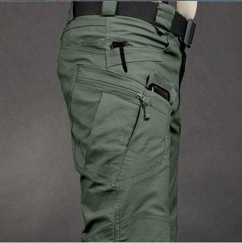 69c63180582 Tactical cargo pants SWAT trousers combat multi-pockets pants training  overalls men s cotton pants S