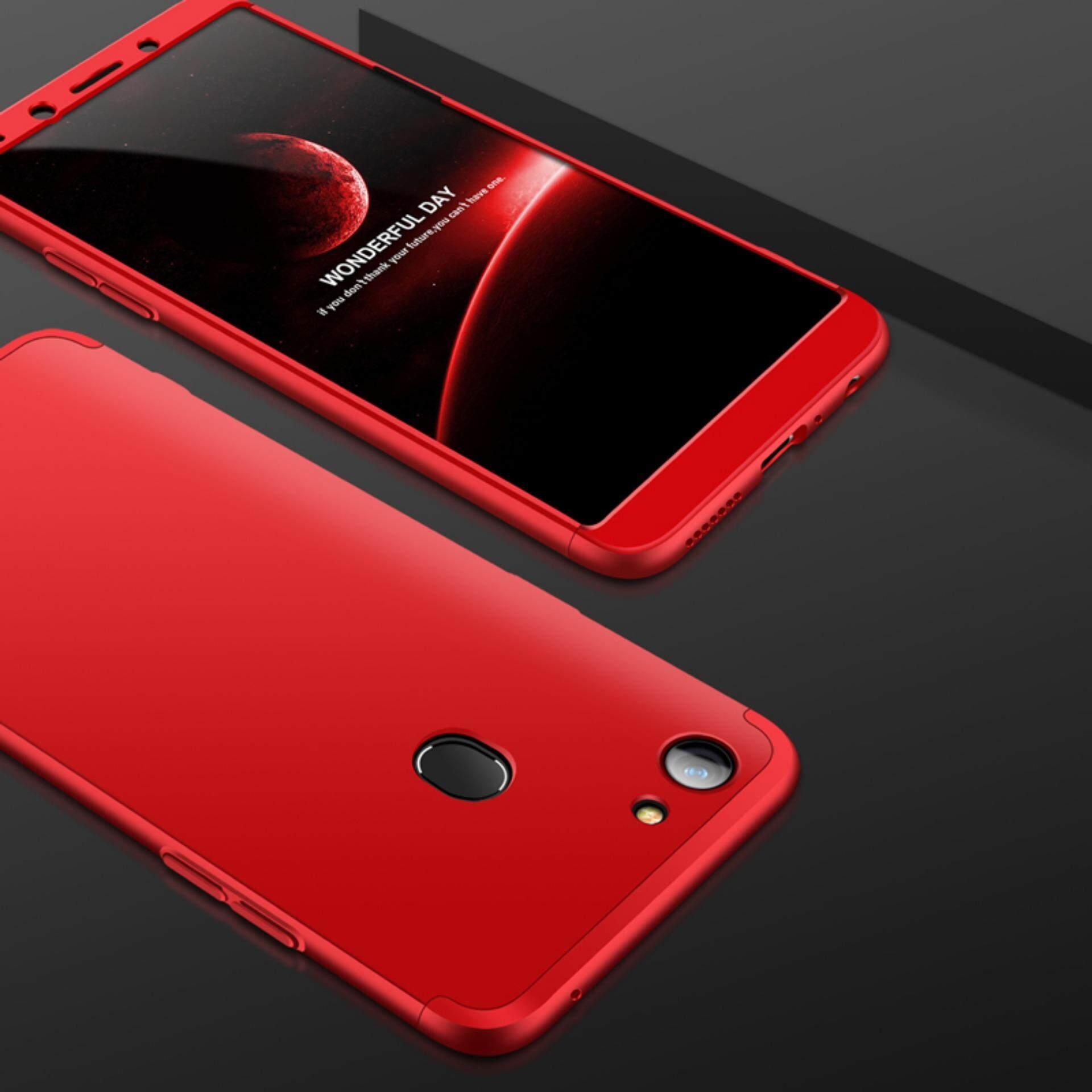 360 Derajat Penuh Sarung 3in1 Kombo Telepon Case untuk Oppo F5 Remaja-Internasional