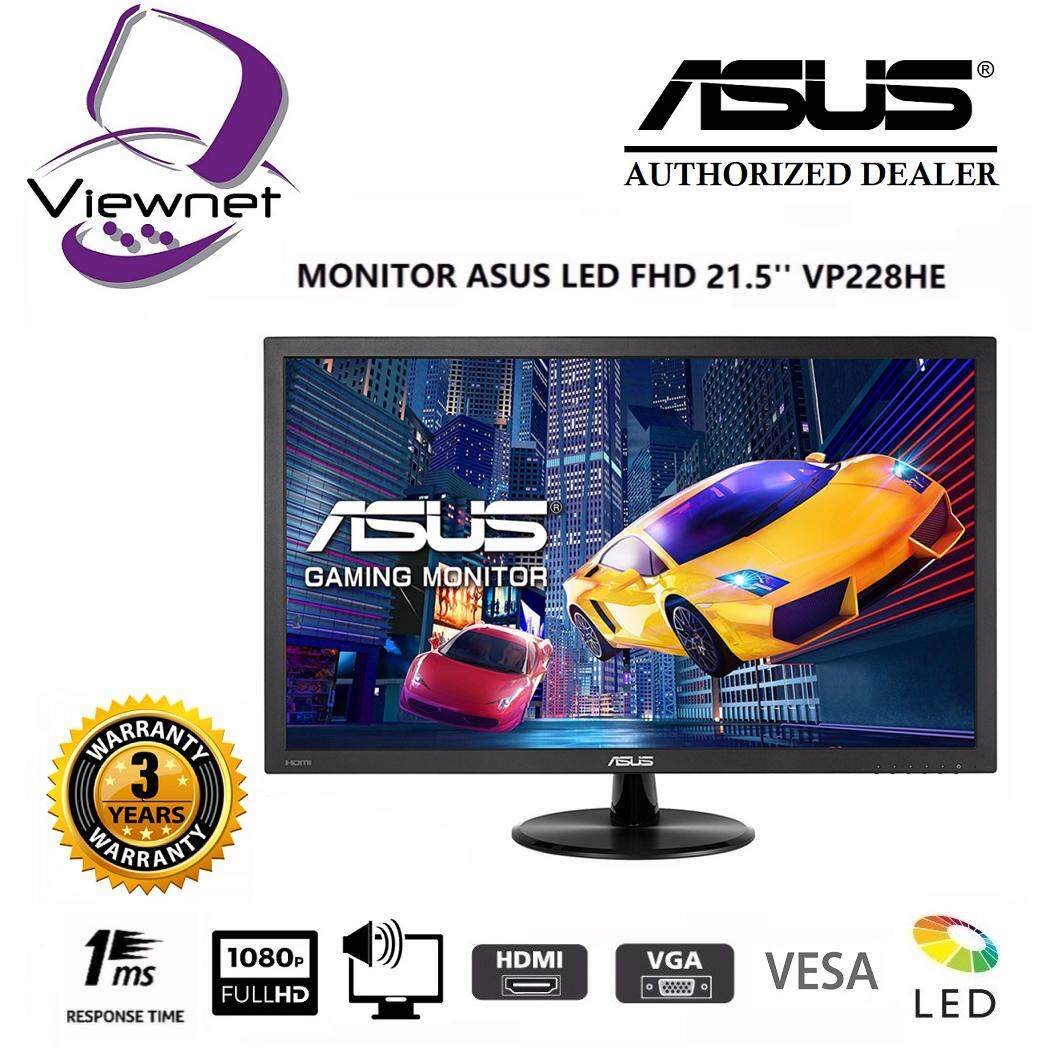 GENUINE ASUS LED FHD 21.5 VP228HE MONITOR (1MS/VGA/HDMI/SPK/VESA) Malaysia