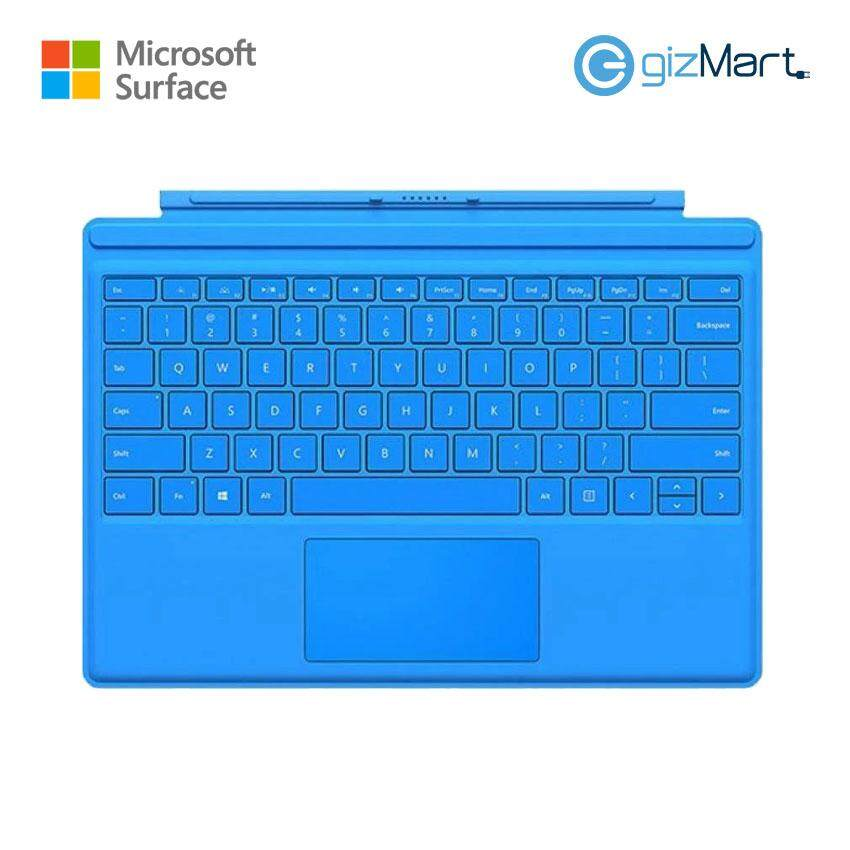 Microsoft Surface Pro 4 Type Cover - Bright Blue (QC7-00065) Malaysia