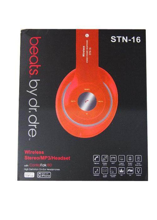 Bluetooth Stereo MP3 Headset ORANGE