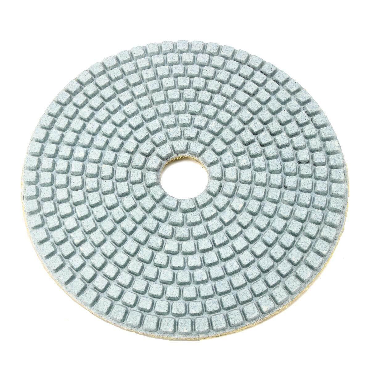 5 Inch 100 Model Kotak-kotak Basah Kering Berlian Alas Poles Amplas Disc Granit Beton