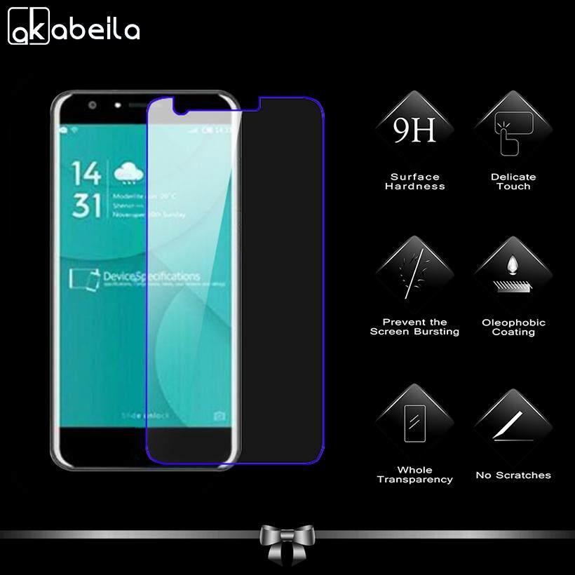 Akabeila 2 Pcs untuk Doogee Y6 Y6C Y6 PRO 5.5 Inch Tinggi Quaity Kaca Antigores Smartphone Pelindung Layar Film