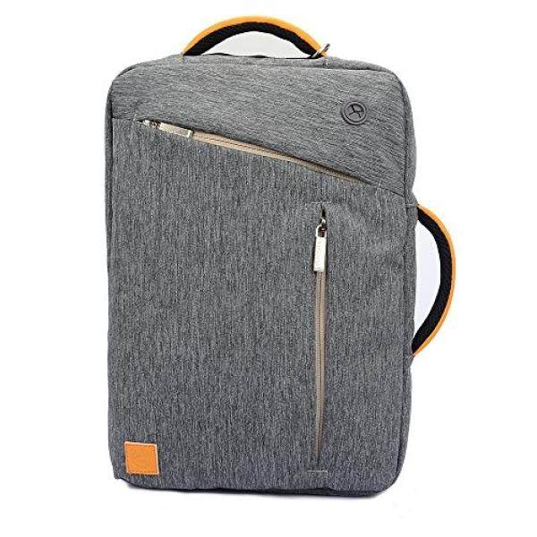 "VanGoddy Canvas 10"" Laptop Bag for HP Chromebook 11 G4/ EliteBook Revolve 810 G3/ 820 G2 12.5""/ 725 G2 12.5""/ ProBook 11 EE G1 11.6""/ Pro x2 612 G1 12.5""/ Spectre x2 12""/ HP x360 310 G2 11.6 (Grey) - intl"