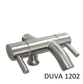 Stainless Steel Two Way Tap DUVA 1202