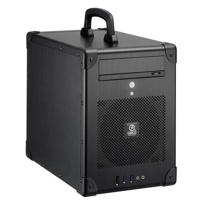 Lian Li PC-TU200B Mini Tower ITX Case - Black Malaysia