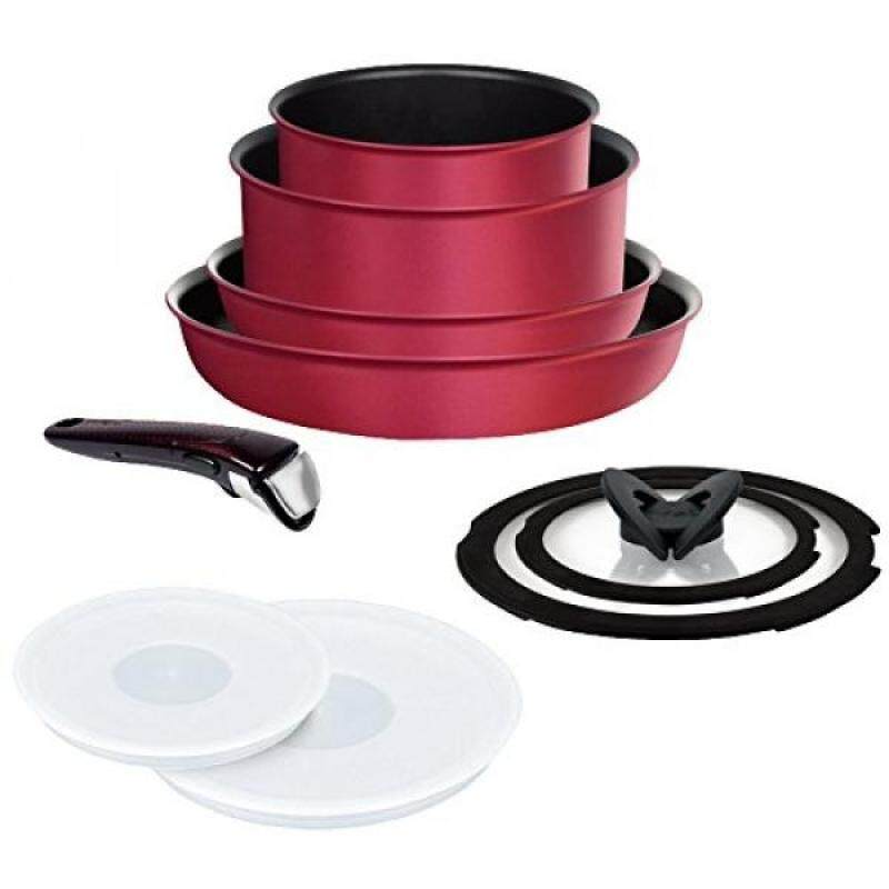Tefal frying pan 9-piece set L66392(Japan Domestic genuine products) - intl Singapore