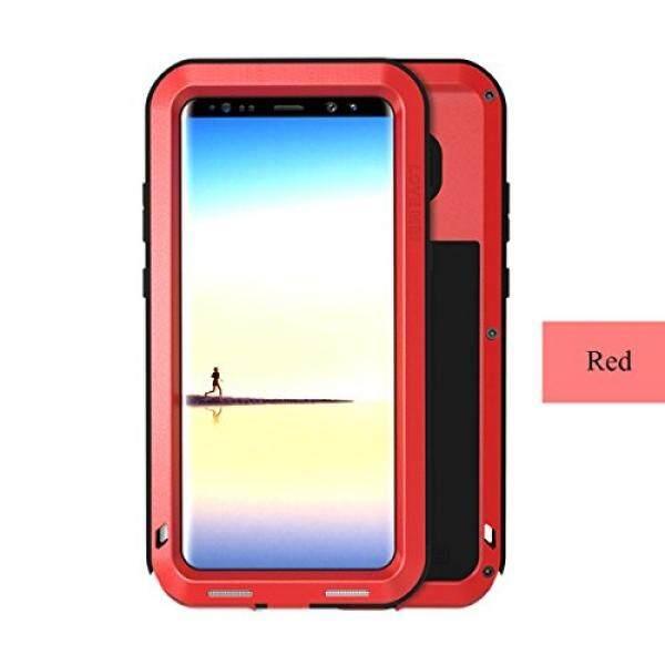 Samsung Galaksi Note 8 Case, aluminium Terbaru Ekstrim Anti Guncangan Weather Debu/Kotoran Tahan Tahan Case dengan Militer Berat Tugas Pelindung Case CINTA MEI Cangkang untuk samsung Galaksi Note 8 (Merah) -Internasional