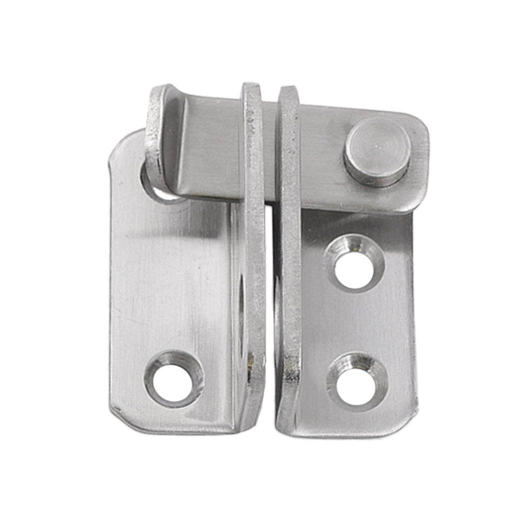 Rustproof Stainless Steel Safety Guard Hasp Cabinet Door Latch Security Lock Buckle Hardware Right Open