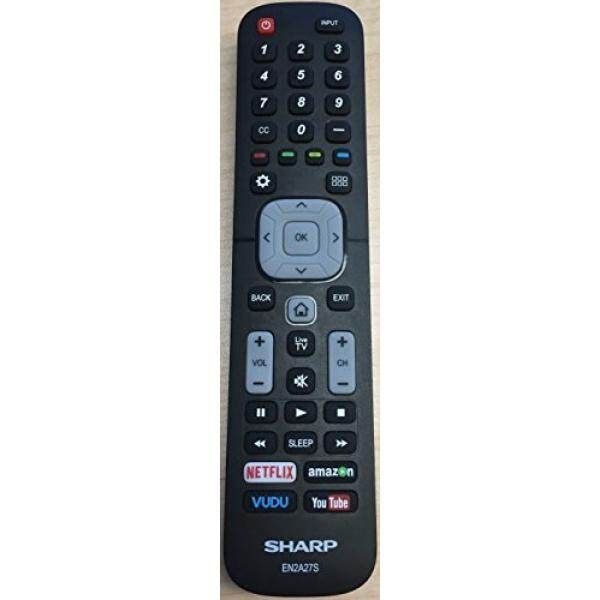 New USARMT Replaced Sharp EN2A27S Smart Remote for Sharp 4K ULTRA LED SMART HDTV 55H6B, 50H7GB, 50H6B, N6200U, - intl