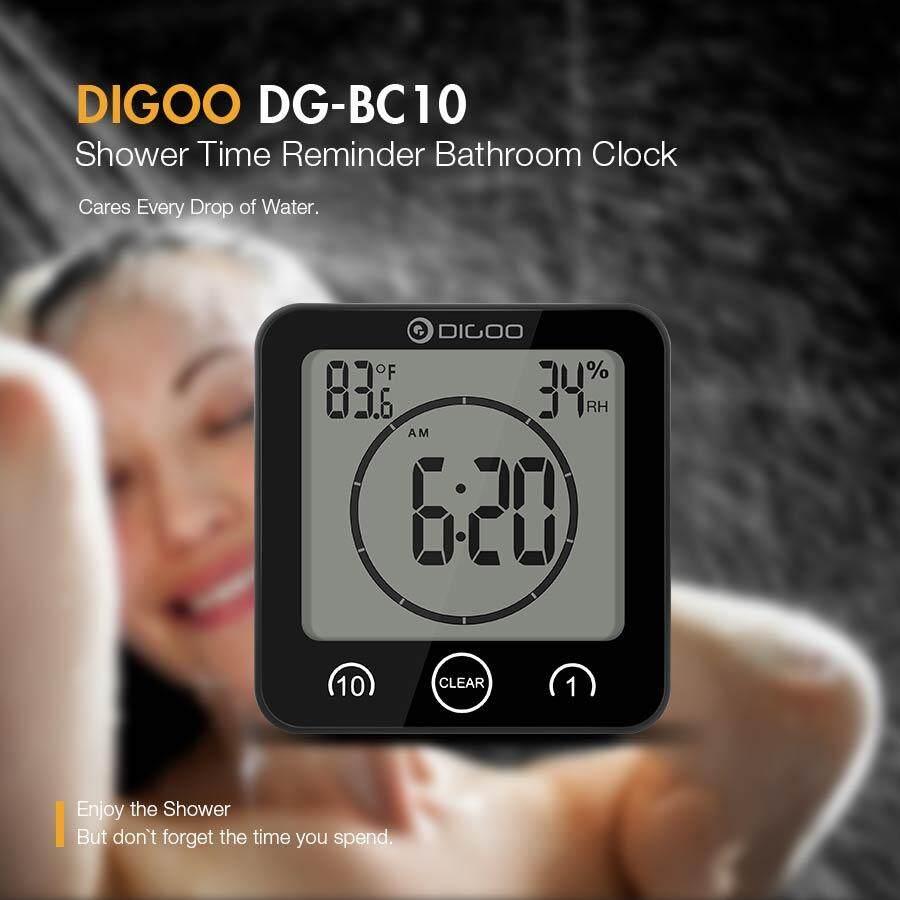 Fitur Jam Digital Dan Pengatur Suhu Ruangan Clock Humidity Htc 01 Thermohygrometer Thermometer Hygrometer 1 Lcd Digoo Bathroom Alarm Waterproof Timer