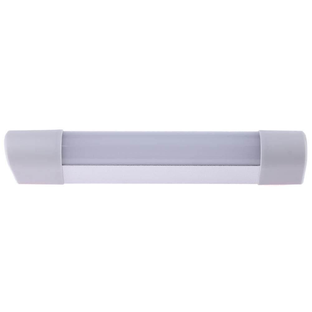 LED Motion Sensor Handheld Wardrobe Lights Bedroom Wall Lamp with Magnet(White)-Long - intl