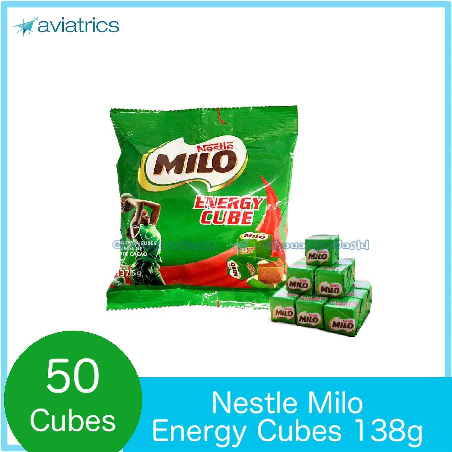 Milo Energy Cube 50pc Pack 138g