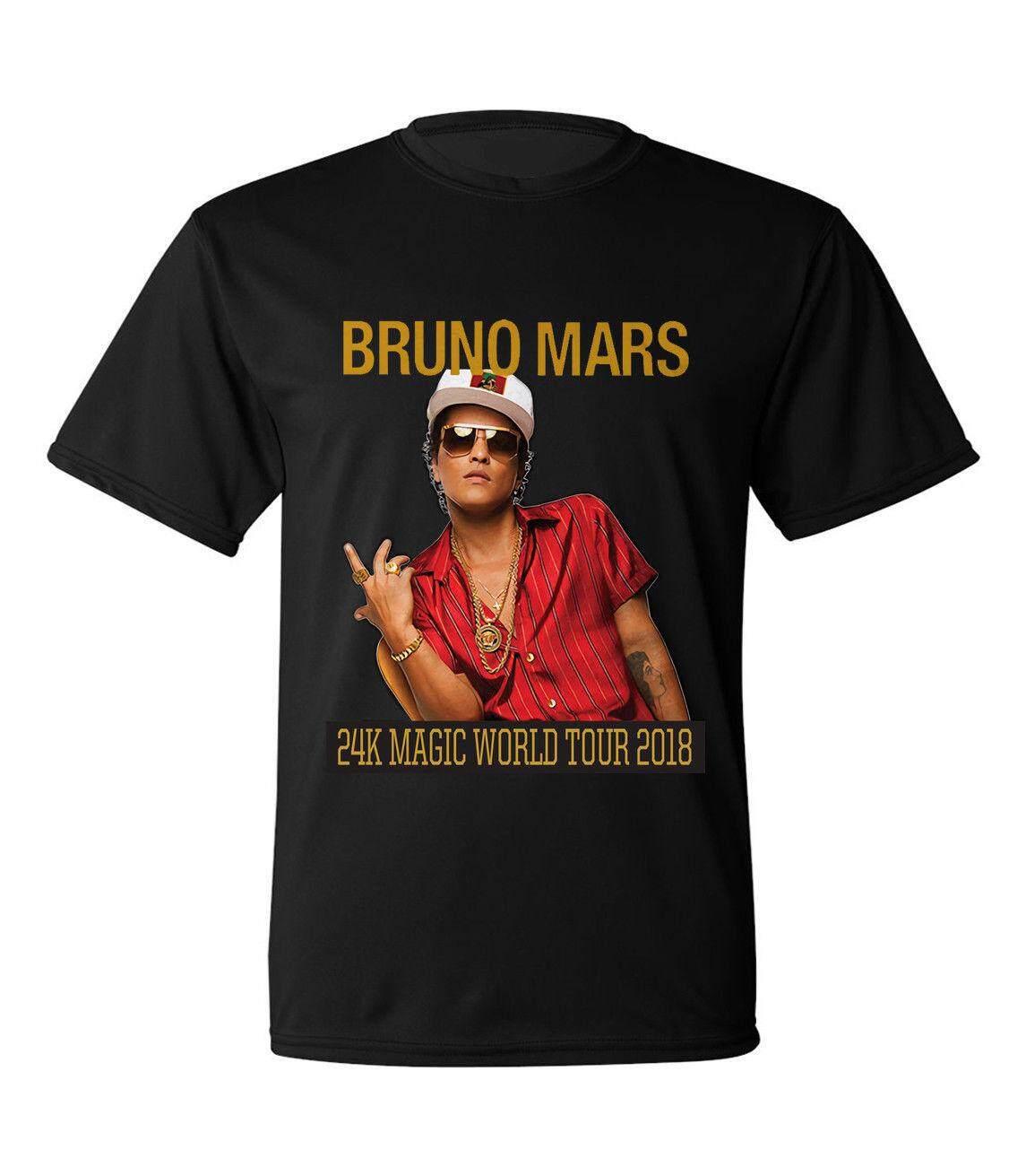 Fitur Baby Boy Bruno Mars Kaos Distro Original Kualitas Terbaik Cotton Man Tee O Neck T Shirts Men Short Sleeve Tshirt