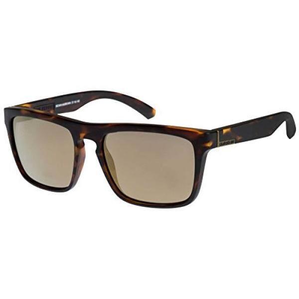 Quiksilver Yang Kacamata Hitam Ferris-Matte Brown Tortoise/Coklat