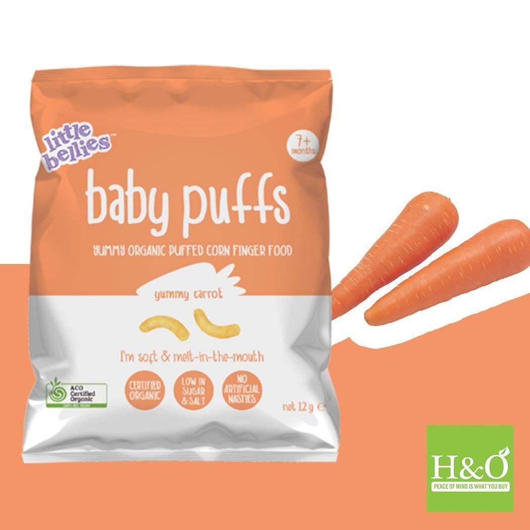 Cek Harga Little Bellies Baby Puffs Carrot 12g Terbaru Happy Organic Combo A Apple Broccoli Banana Pumpkin Yummy