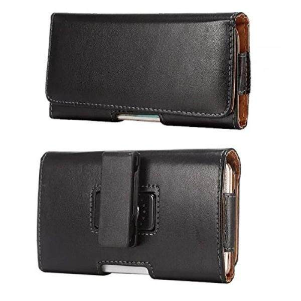 Premium PU Leather Horizontal Case Belt Clip Holster for Samsung Galaxy S9 / S9 Plus / LG G7 / LG V30 / K10+ (2018) / Google Pixel 2 XL / Asus ZenFoen 5 / 5Z / Sony Xperia XZ2 / XA 2 / Nokia 8 Sirocco - intl