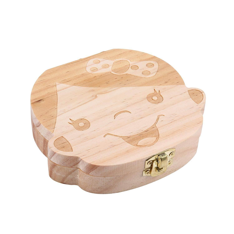Shentong Baby Wooden Teeth Save Box Milk Teeth Wood Case Storage Kids Keepsake Organizer - Intl By Cangzhou Shentong Pipe Industry Co. Ltd..