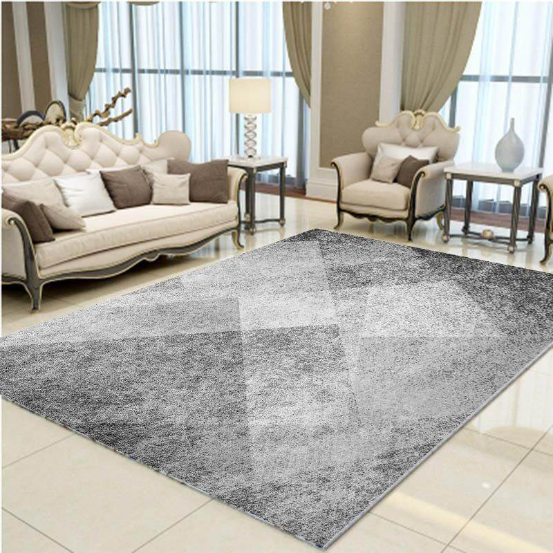 Anti-slip Washable Area Rug for Living Room Bedroom Computer Chair Coffee Table Large Baby Tent Playhouse Crawling Mats Tatami Carpet 80x120cm - intl