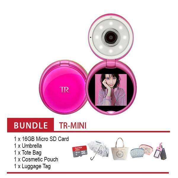 Casio Exilim TR-MINI EX-TRM11 Selfie Digital Camera ( Vivid Pink )