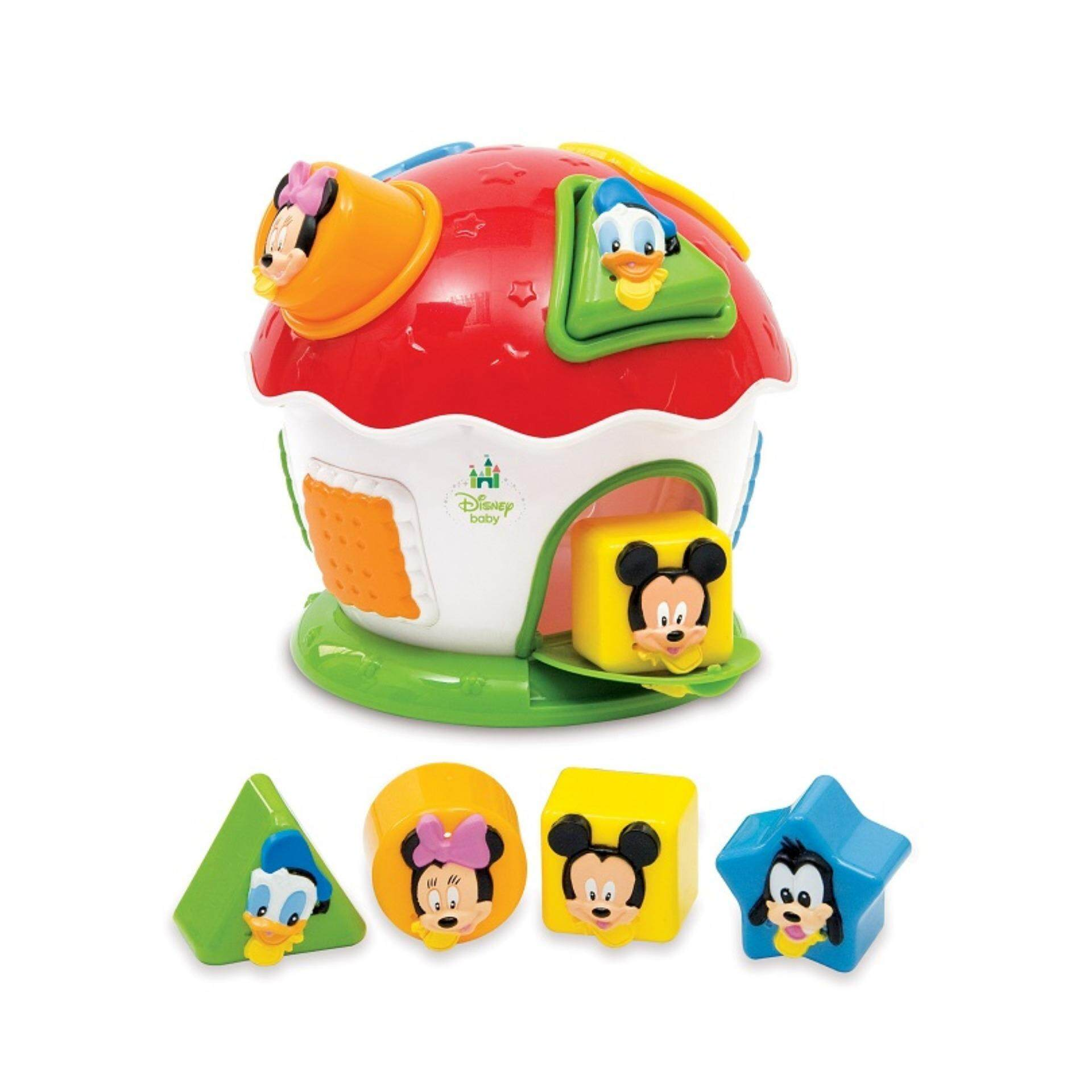 Disney Baby Learning Shapes And Colours Sorter Educational ...