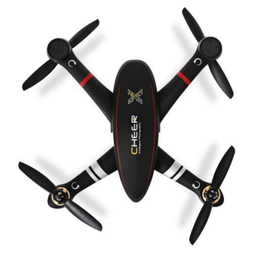 CHEERSON CX - 23 CHEER BRUSHLESS RC QUADCOPTER RTF 5.8G FPV 2MP CAMERA / GPS ALTITUDE HOLD / OSD DUAL-WAY TELEMETRY (BLACK)