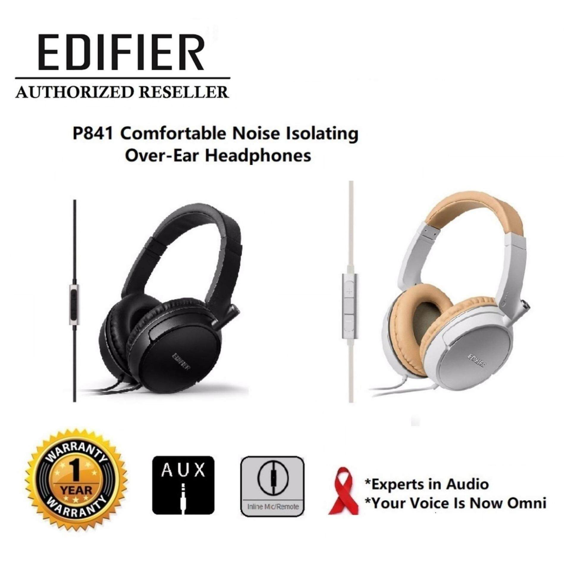 GENUINE EDIFIER P841 HI-FI SOUND WITH GREAT BASS HEADPHONES