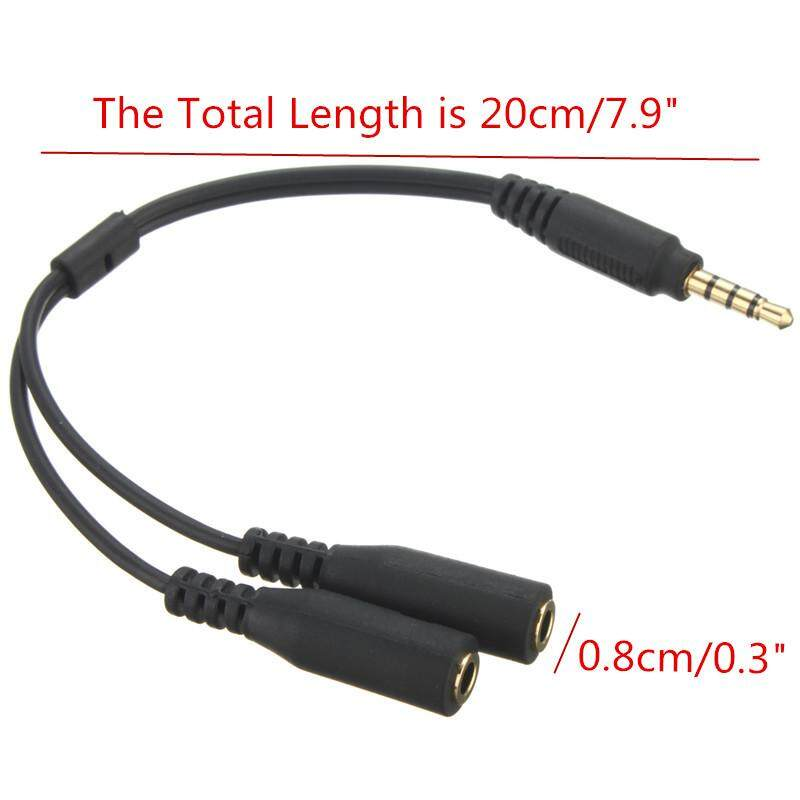 2 Way Headphone Splitter 3.5mm Jack AUX