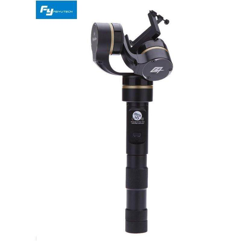 Feiyu Tech G4 3-Sumbu Handheld Gimbal untuk GoPro Hero4/3 +/3 dan Kamera Olah Raga Lainnya dengan Ukuran Hampir Sama-dari Amerika Serikat-Internasional