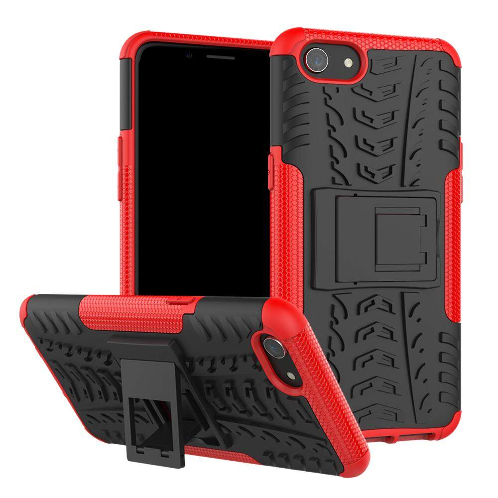 Ueokeird Heavy Duty Shockproof Dual Layer Hybrid Armor Pelindung With Kickstand Case For Sony Xperia Z2-IntlIDR72000. Rp 73.000