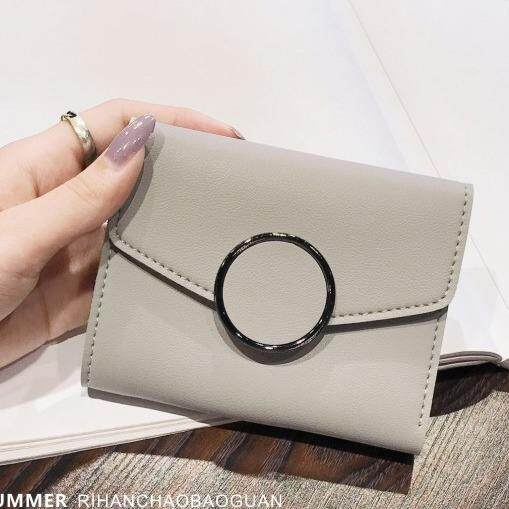 Bolster Store Women Ladies Small Mini Wallet Purse Short Flap Fashion Wallet Dompet Kecik Pendek Wanita