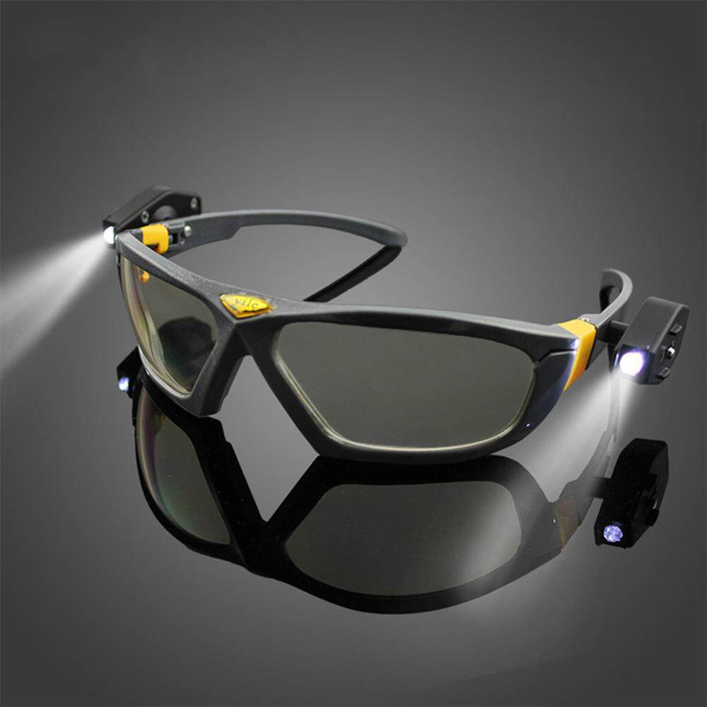 (High end) Protective goggles with lamp goggles Night spotlights Protective goggles, high brightness, mine, night ride - intl