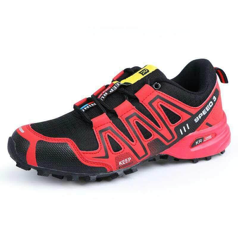 Fashion Musim Gugur dan Musim Dingin Kecepatan 3 Pria Outdoor Penyaradan  Cross-Country Sepatu Gunung eb3d5d2083