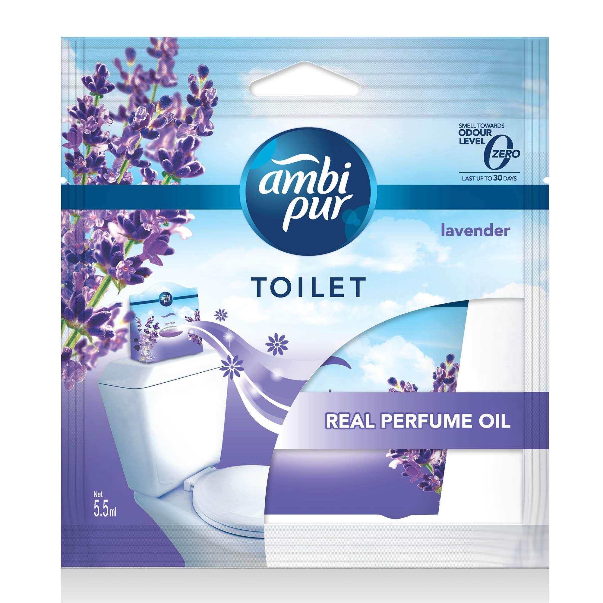 Ambi Pur Toilet Fresh Air Freshener Lavender 5.5ML