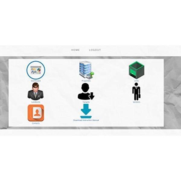 Sewa dan Manajemen Properti Perangkat Lunak Profesional; Semua Dalam Satu Properti Sewa dan Tenant Manajemen Perangkat Lunak; properti Sewa Manager (Kode Akses Online Kartu) Jendela, Mac, Smartphone-Internasional