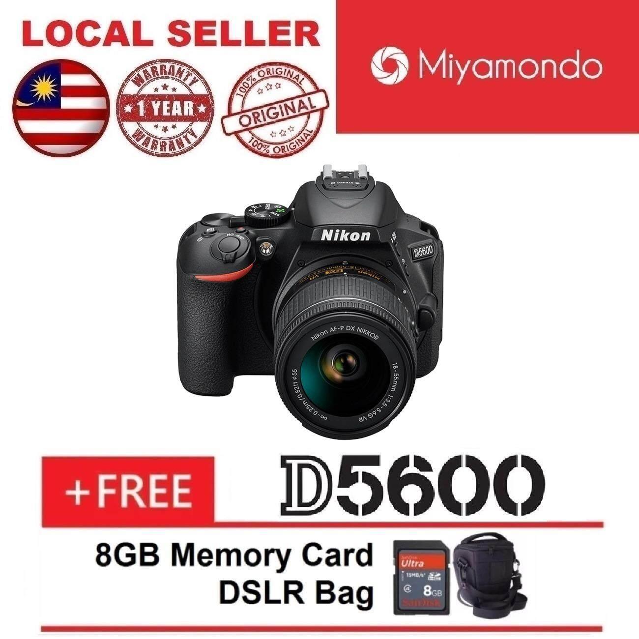 Cek Harga Nikon D5300 18 55mm Vr Ii Lens Kit 8gb Bag Black Kamera Dslr Lensa Af S D5600 With