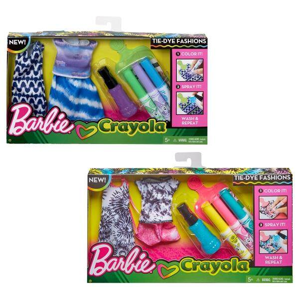 [BARBIE] DIY Crayola Tie Dye Fashion Assortment (5 yrs+)