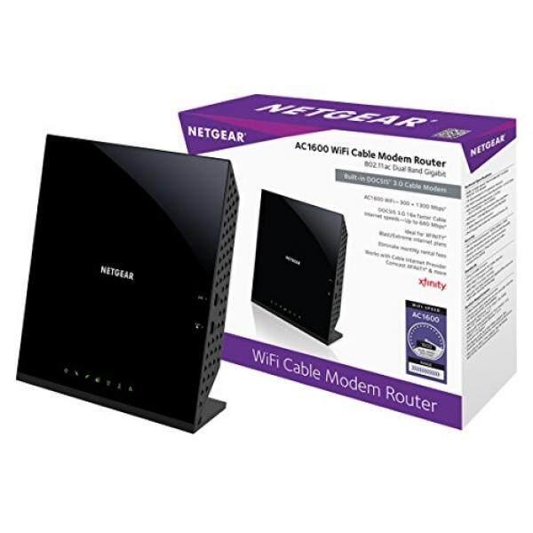 Netgear AC1600 (16X4) WIFI Kabel MODEM Router Kombo (C6250) DOCSIS 3.0 Bersertifikat untuk Xfinity Comcast, Waktu Warner Kabel, Cox, & Lainnya-Internasional