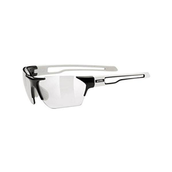 Uvex Sportstyle 202 Variomatic Sunglasses Black/White, One Size - Mens