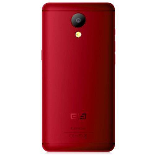 ELEPHONE P8 4G PHABLET 5.5 INCH ANDROID 7.0 HELIO P25 2.5GHZ OCTA CORE 6GB RAM 64GB ROM 21.0MP REAR CAMERA FINGERPRINT SENSOR DUAL BAND WIFI (RED)