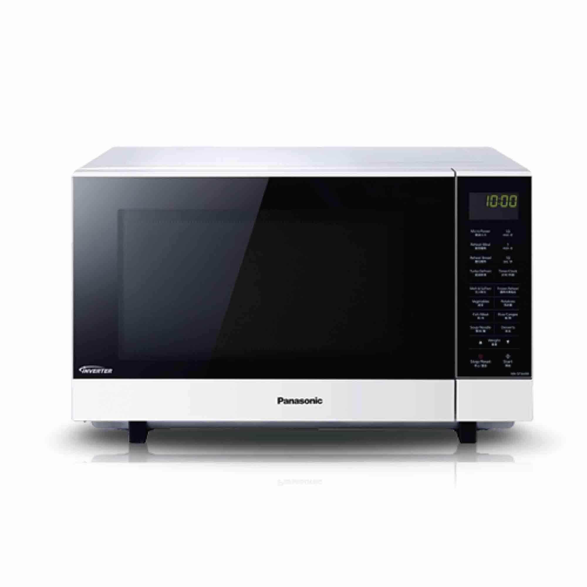 Panasonic Microwave Oven NN-SF564W (27L) Flat & Wide Cavity