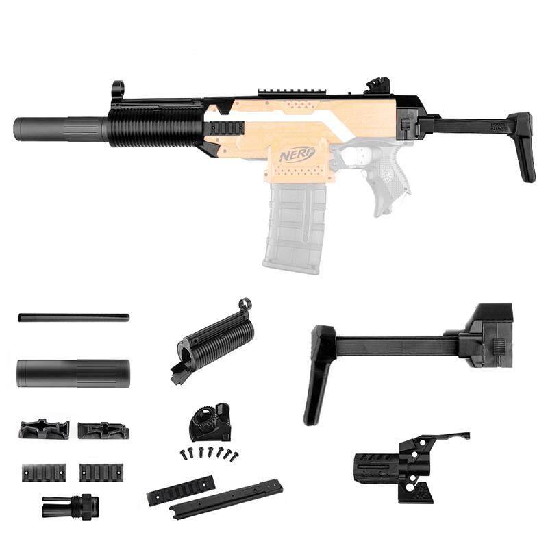 WORKER F10555 MP5-K Bare Pipe Front Tube Decoration Part For Nerf N-Strike Elite