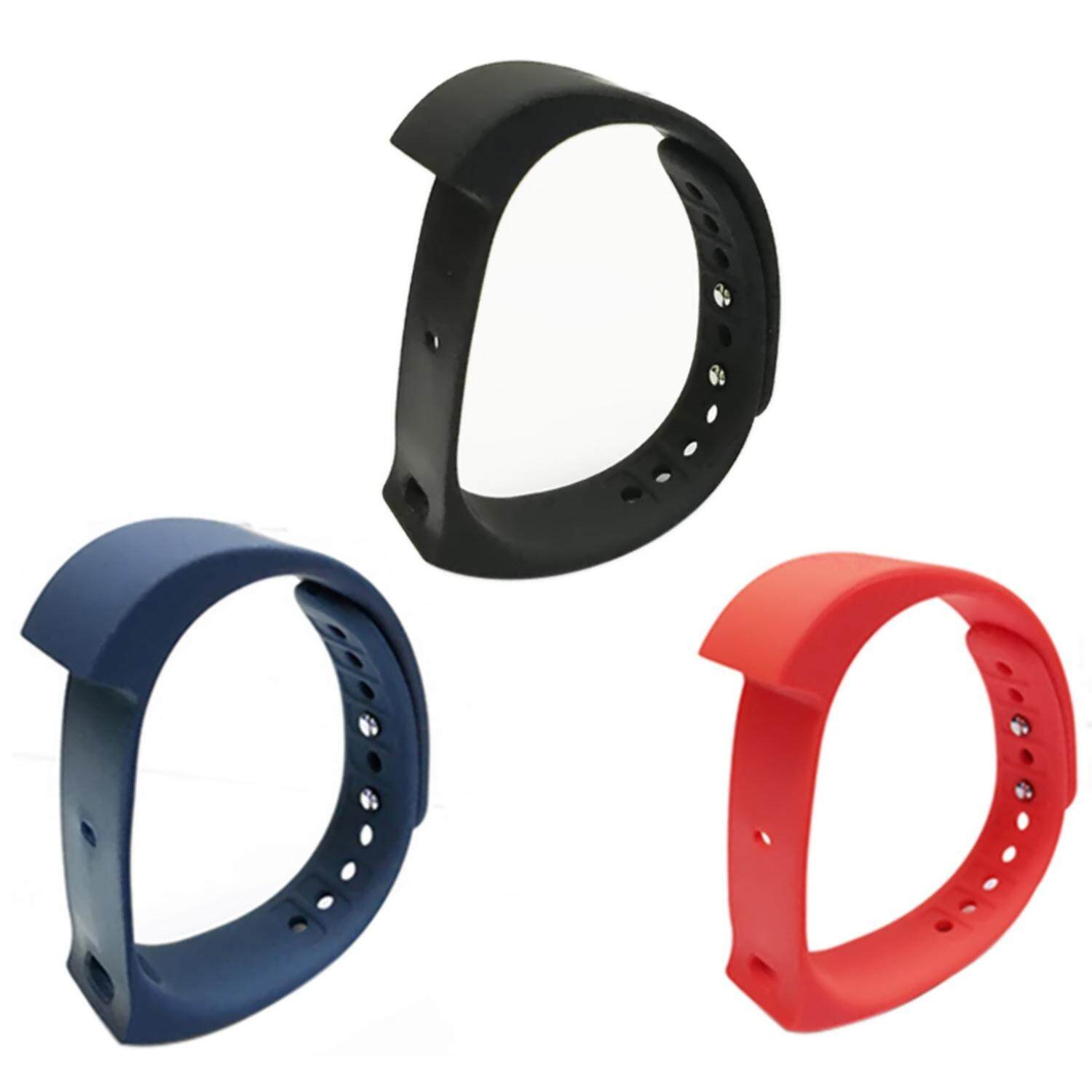 woppk 3Pcs Original Replacement IWown I5 Plus Strap Black Blue And Red - intl