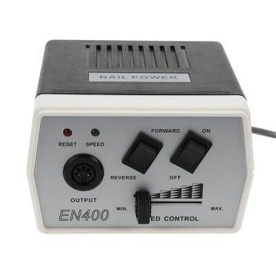 Electric Nail Drill Machine Equipment Manicure Pedicure Tool (BLACK)