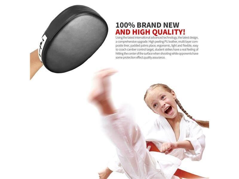 Hình ảnh Flexible Hand Fist Target Pads Sanda Taekwondo Foot Muay Thai MMA Boxing Pad - intl